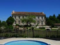 A wonderful chateau with gites and a swimming pool